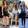 Quand Miley Cyrus se promène ça donne koi ?