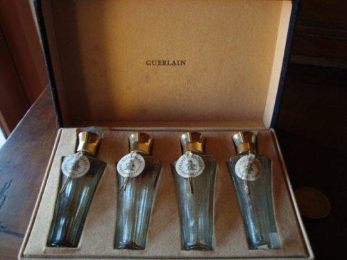 Guerlain superbe coffret 4 flacons chevaux de Marly