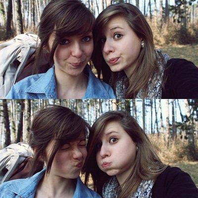 Ma meilleure amie, mon bonheur, mon joli coeur, mon tout !