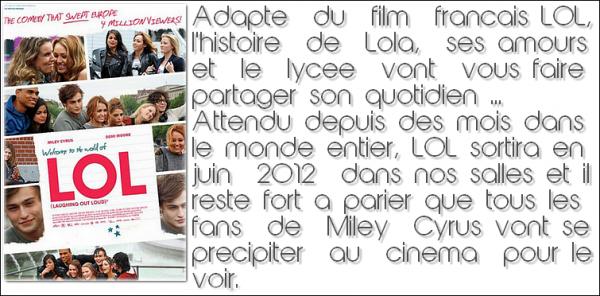 Miley Cyrus : LOL, la bande annonce !