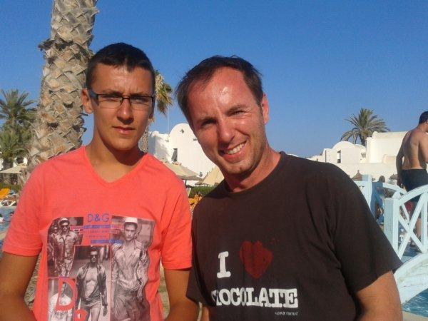 Moi et Jean-Philippe Doux