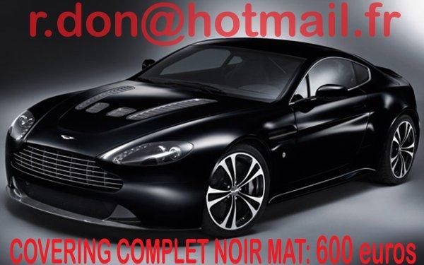 articles de total covering voiture tagg s total covering noir mat total covering automobile. Black Bedroom Furniture Sets. Home Design Ideas