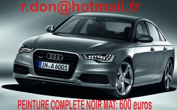Articles De Total Covering Voiture Tagges Audi A6 Noir Mat Total