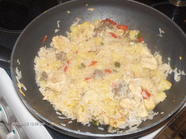 riz a l'indonésienne