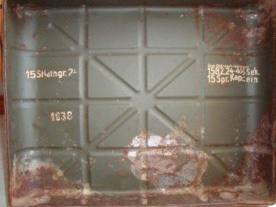 caisse de grenade allemande