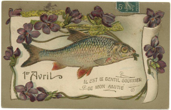 1er AVRIL : ATTENTION au POISSON.