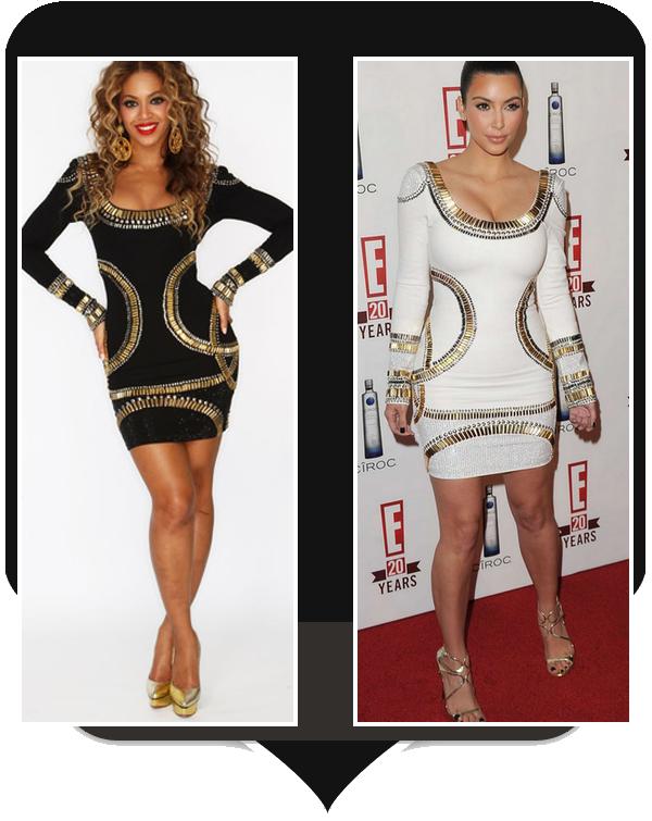 V.S : Beyonce / Kim Kardashian