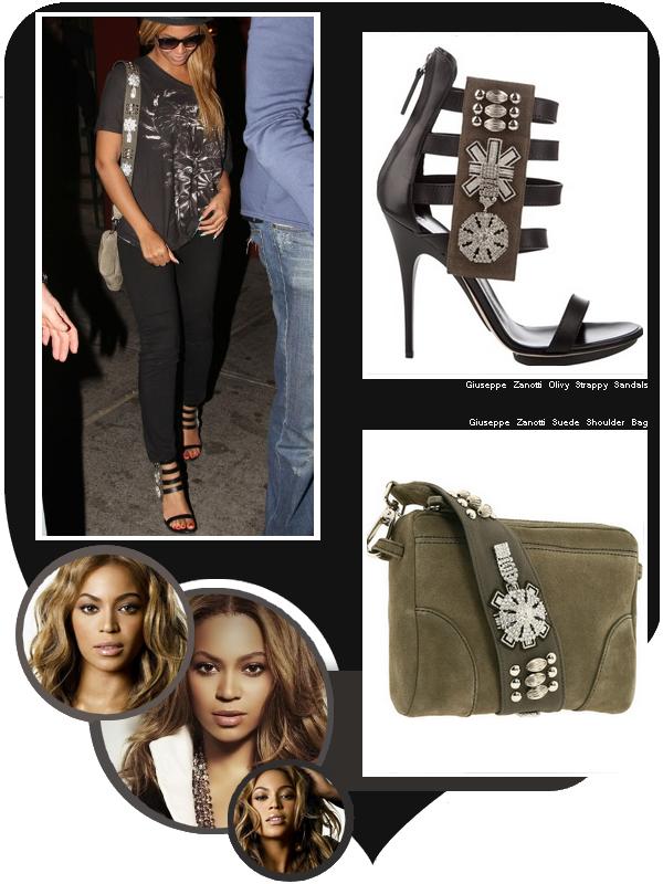 Le 14 juin 2010, Beyoncé quittant le restaurant Pepolino à New York