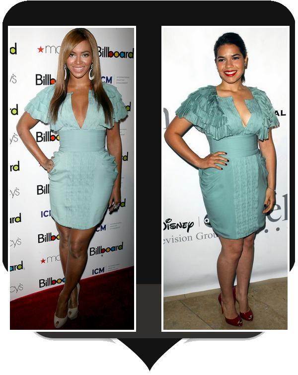 V.S : Beyonce / America Ferrera