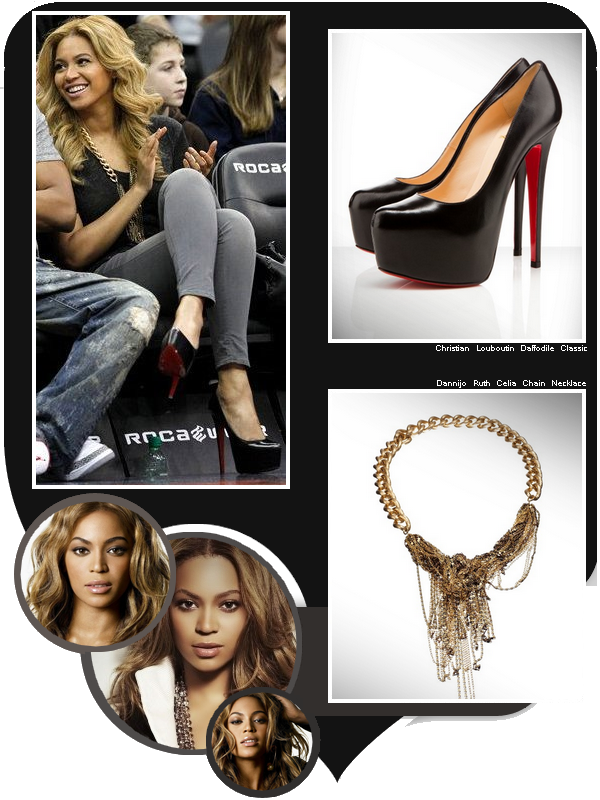 Beyonce Likes To Wear Sexy Stilletos For Jay-z