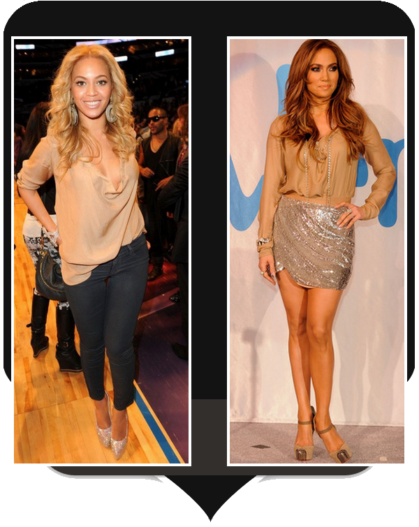 Jennifer Lopez  vs. Beyonce
