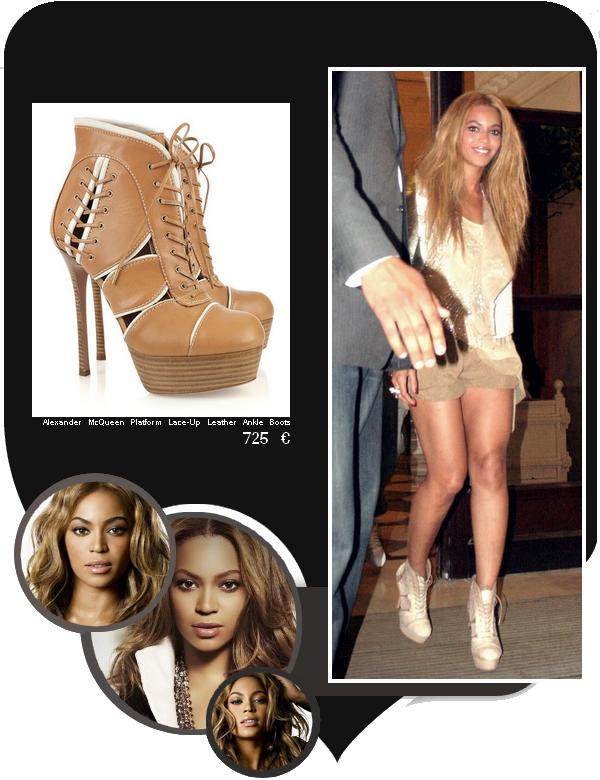 """Beyoncé allant à la boîte de nuit """"L'Arc"""""""