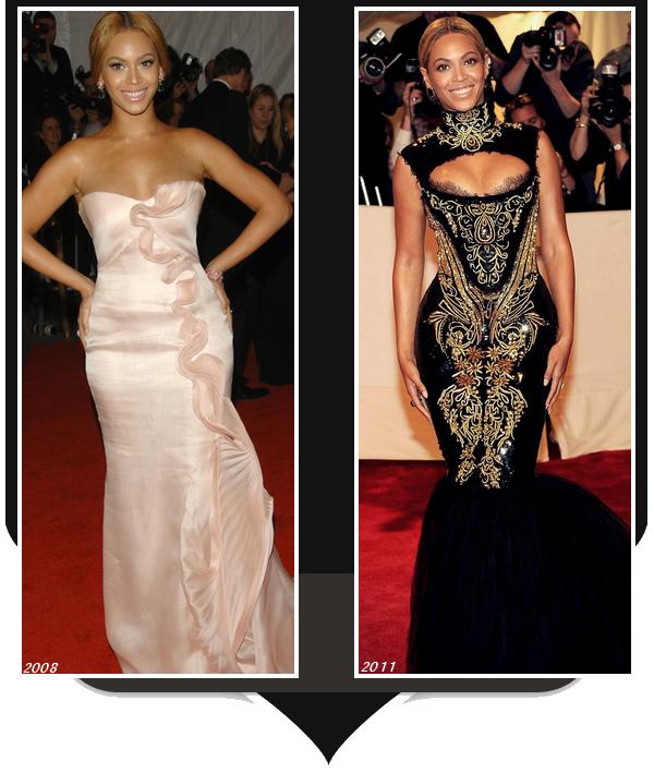 Beyoncé était présente hier au Met Ball