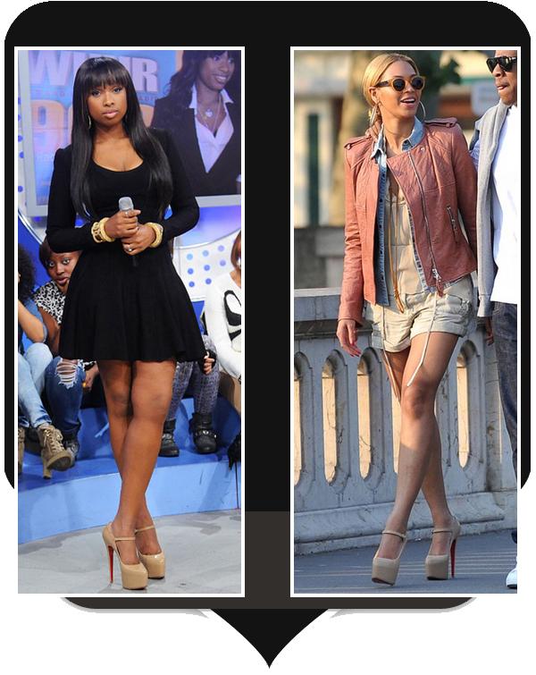 V.S : Beyonce / Jennifer Hudson