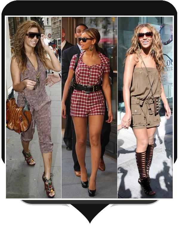 Les combinaisons de Beyoncé