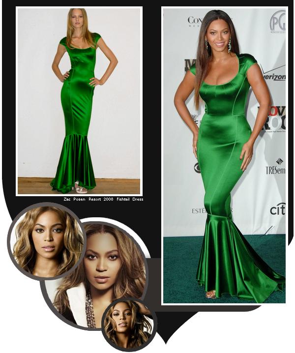 En 2007 Beyoncé était présente sur le Red Carpet des Movies Rocks