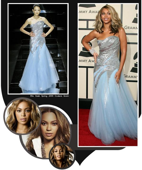 Beyoncé, Radieuse à la cérémonie des Grammy Awards 2008