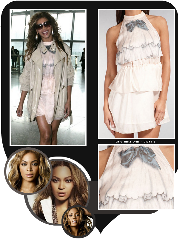 Beyoncé porte une robe des créations Sretsis