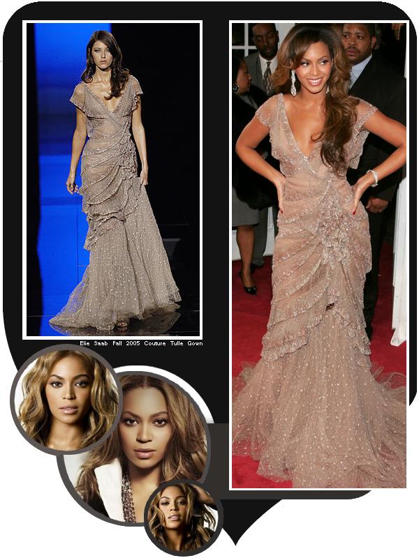 En 2005 Beyoncé assistait à la première de Dreamgirls
