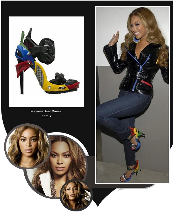 Beyoncé porte des Balenciaga Lego qui coûte 2876 ¤