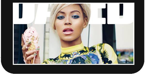 Beyoncé Knowles sexy en couverture de Dazed