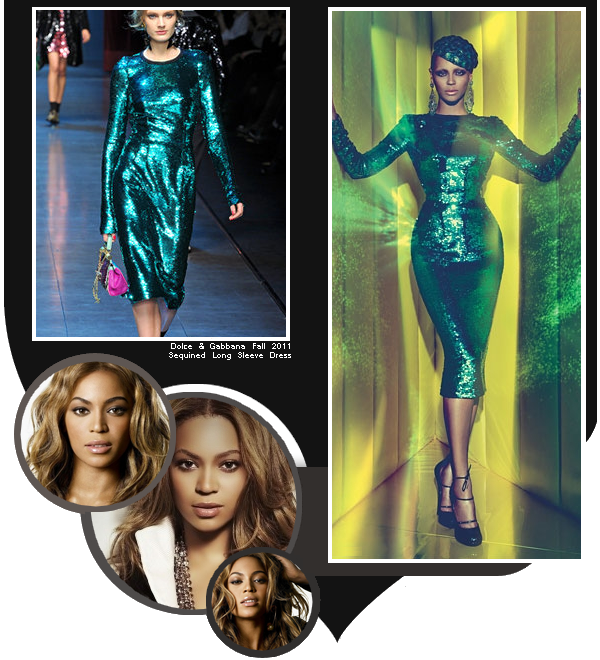 Beyoncé en couverture du ''W'' de juillet 2011 / partie 1