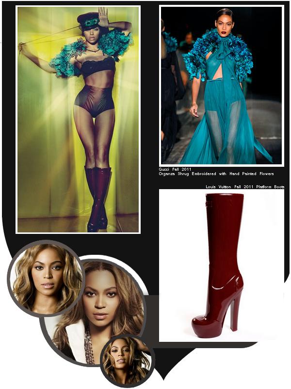 Beyoncé en couverture du ''W'' de juillet 2011 / partie 5