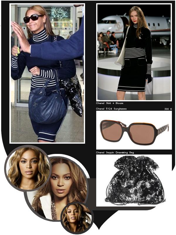 En 2008, Beyoncé à Nice portait les créations Chanel