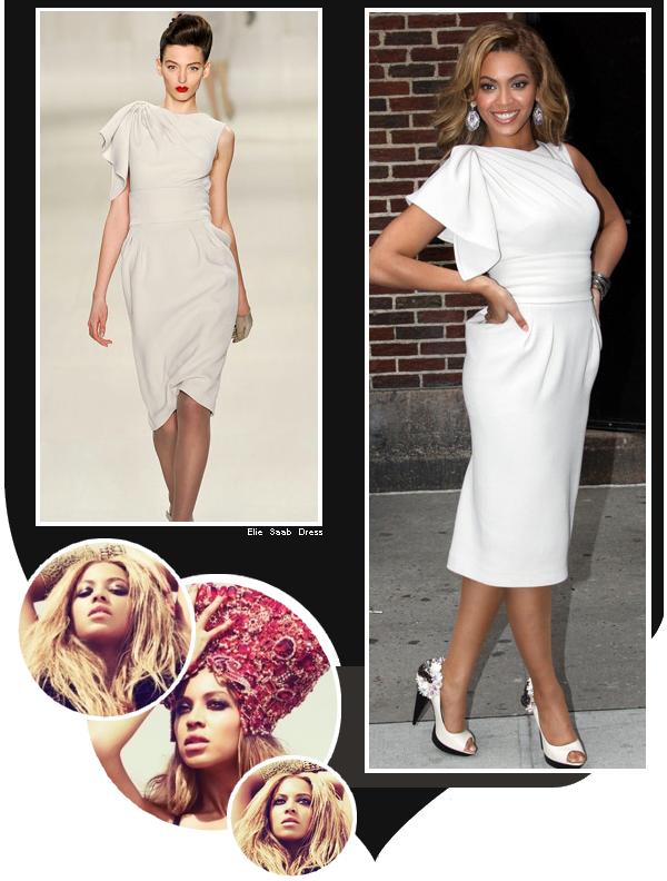 En 2009 Beyoncé était invitée sur le plateau du DavidLetterman Show
