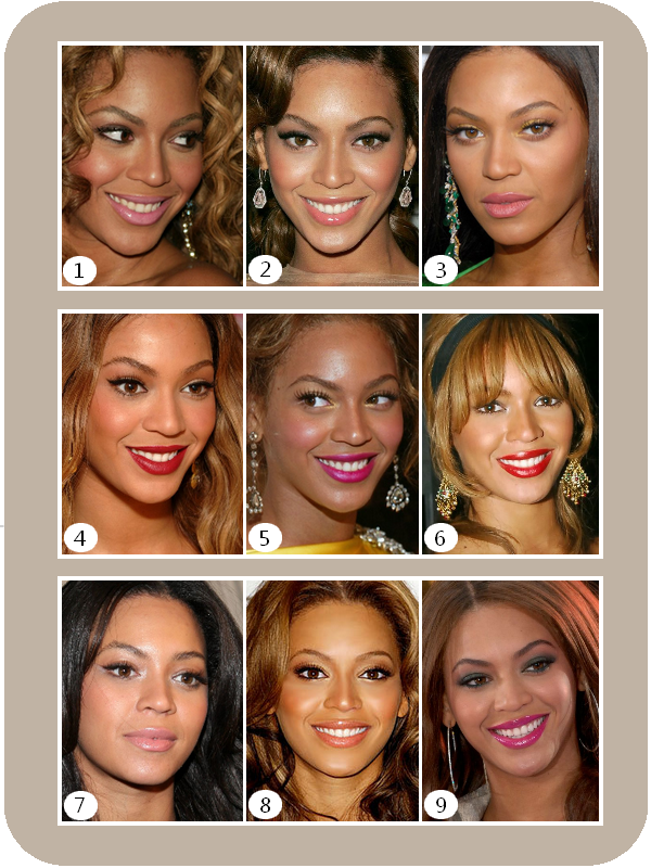 Beyonce sublime ses lèvres