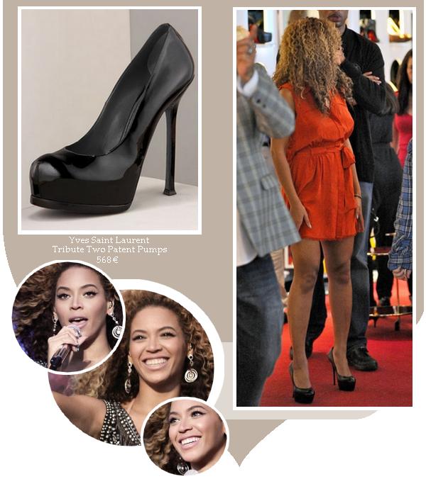 Beyoncé fait du shopping à Londres