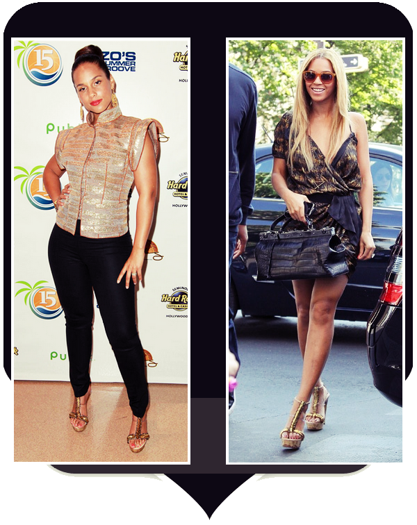 V.S : Beyonce / Alicia Keys