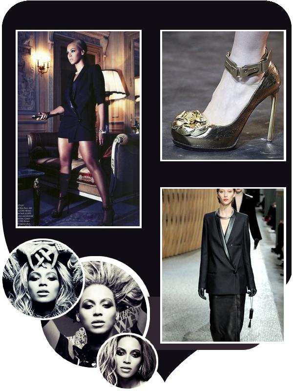 Beyoncé en couverture de Harper's Bazaar.