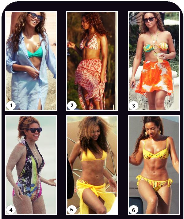 Beyoncé & ses maillots de bain