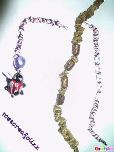bracelet et porte clés