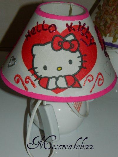 lampe hello kitty PLUS DISPO