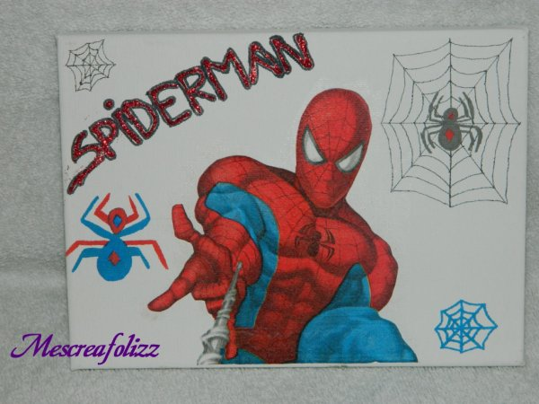 toile spiderman