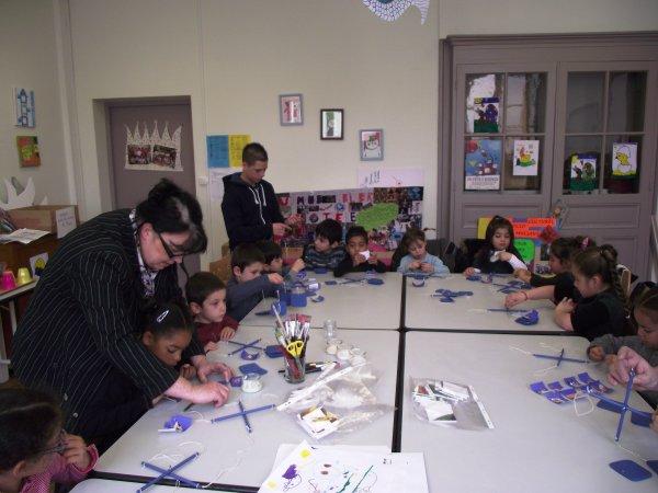 animation au centre de loisirs avril 2012