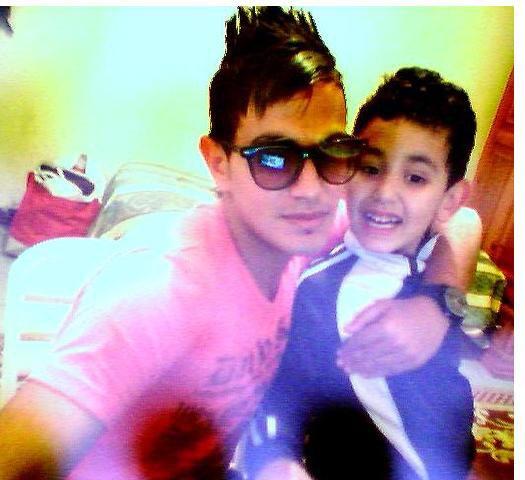 moi et ma jolie frère  <3<3