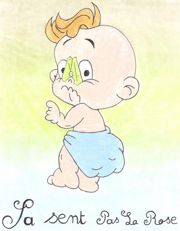 bebe humouristique