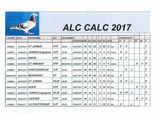 CALENDRIER CALC 2017
