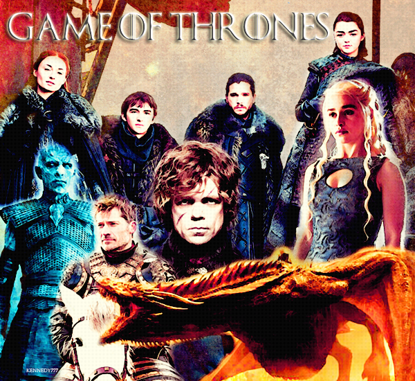 SERIE : GAME OF THRONES Créa - Texte