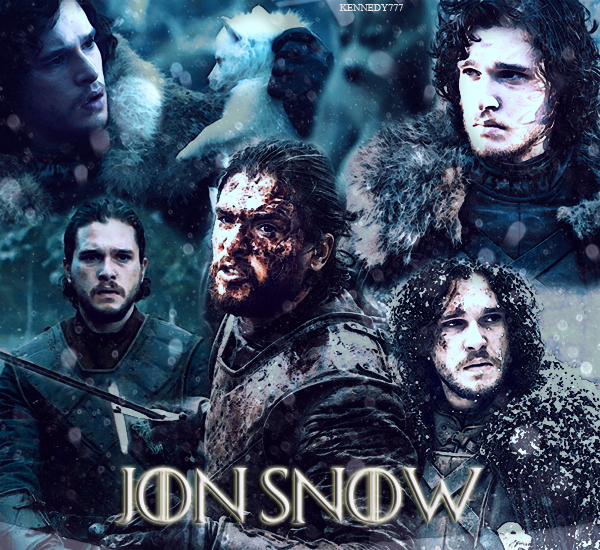 GAME OF THRONES : JON SNOW Créa - Texte