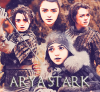 GAME OF THRONES : ARYA STARK Créa - Texte