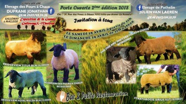 2ème éditions Porte Ouverte 2018