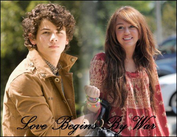 * Love Begins By War  L'amour commence par la guerre...