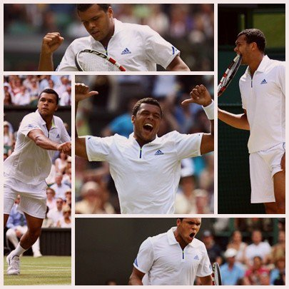1/8 finale de Wimbledon 2011 : Tsonga-Ferrer