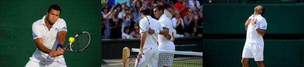 1/4 de finale de Wimbledon 2011 : Tsonga-Federer