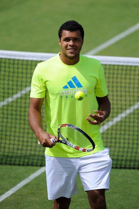 Entraînement de Jo à Wimbledon (2011)
