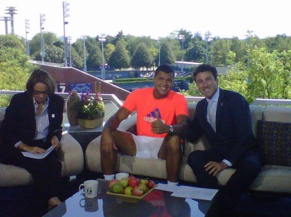 L'US Open vu de l'intérieur avec Jo